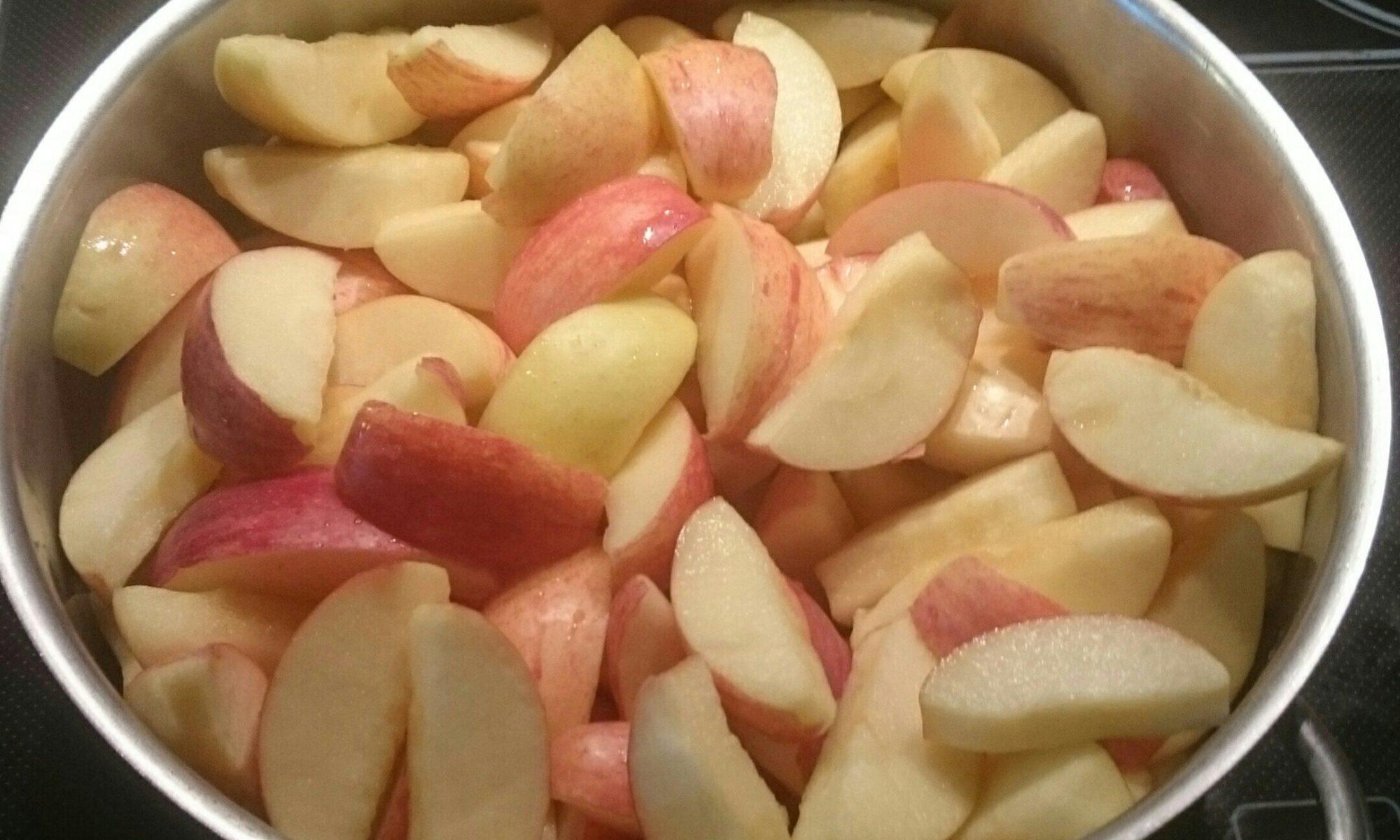 Apfelmus einkochen