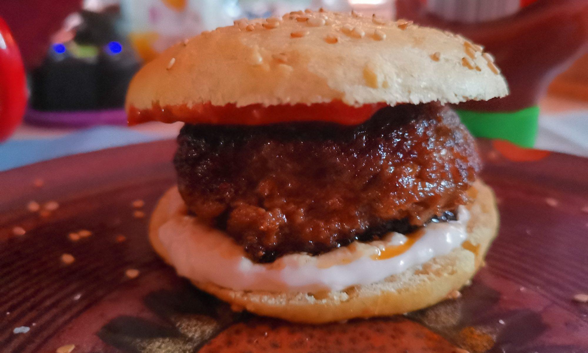Titelbild: Burger-Pattie ohne Ei