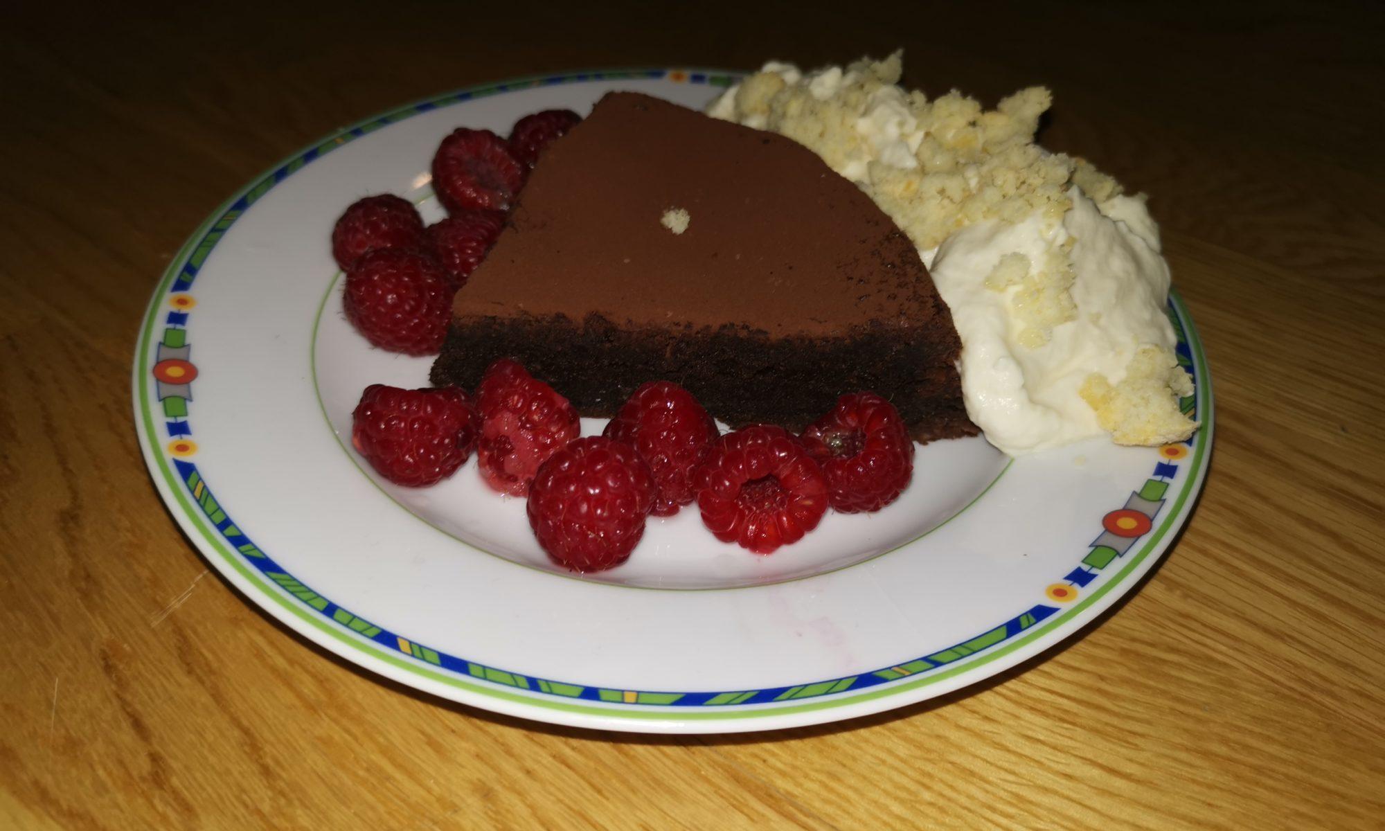 Eingesunkener Schokoladenkuchen Titelbild