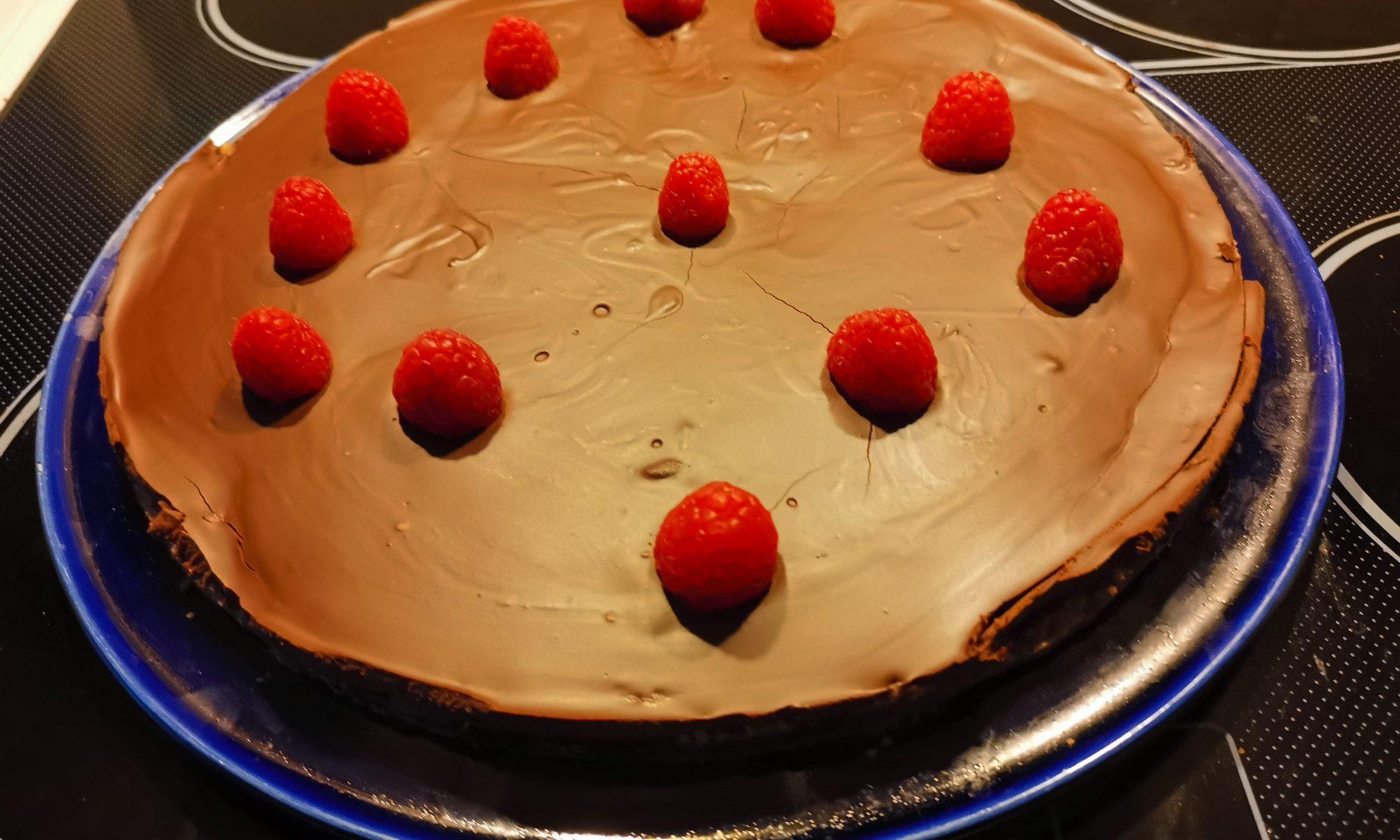 Titelbild Dunkle Schokoladen-Ganache