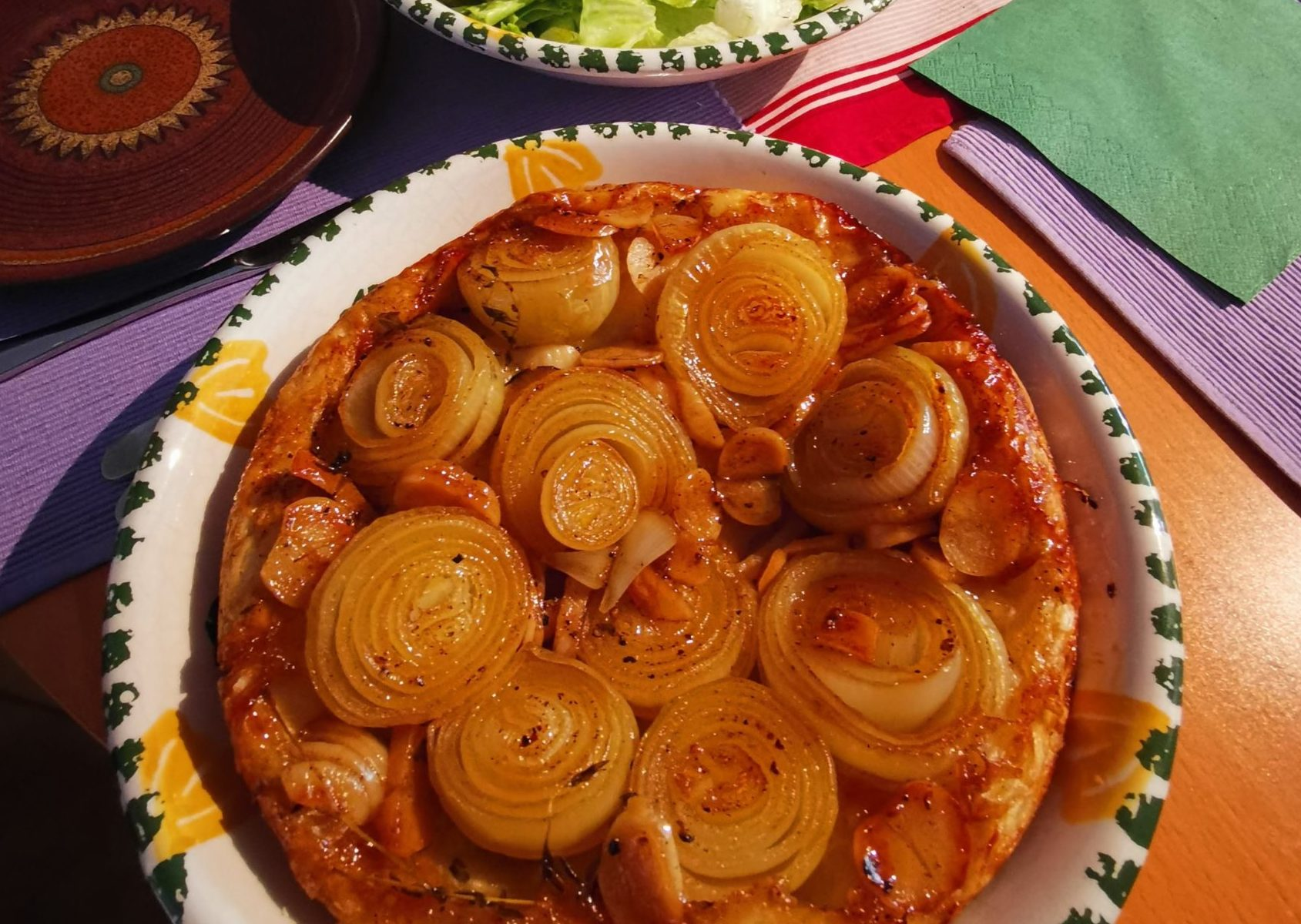 Karamellisierte Zwiebel-Tarte